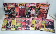 My brother's subscription to Fangoria magazine