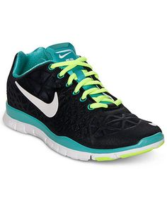 Nike Women's Shoes, Free TR Fit 3 Cross Training Sneakers - Finish Line Athletic Shoes - Shoes - Macy's