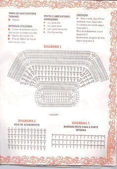 TAPETE DE CROCHÊ OVAL - Beth do blog http://fazendoarte-arteemcroch.blogspot.com.br/
