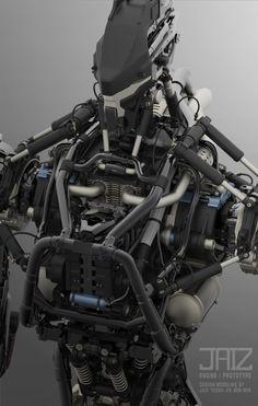 Cyberpunk Character, Cyberpunk Art, Robot Concept Art, Armor Concept, Character Concept, Character Design, Futuristic Robot, Futuristic Design, Robot Parts