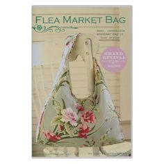 Tanya Whelan Flea Market Pattern from @fabricdotcom  Designed by Tanya Whelan, this pattern includes pictures, detailed instructions and pattern pieces to construct this lovely bag.<br><a href=https://s3.amazonaws.com/fabric-pdf/WMP-018-2.pdf >Click here for pattern back.</a>