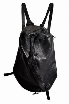 luca bianchini  Italian Calf Leather Oxidized Silver Parts Boston & Backpack 2WAY BAG