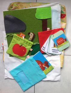 Peg Bag Handmade in Colouful étoile de mer Mat Toile Cirée Tissu-Lavables