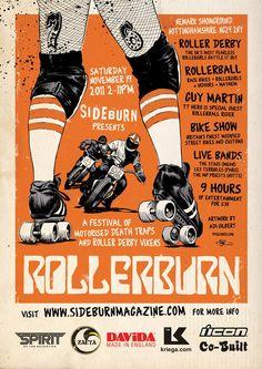 Roller Derby & Bike Show?