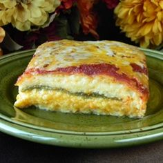 Chile Rellenos Casserole. This is REALLY yummy, and simpler to make than the instructions look. Great with a salad and pinto or black beans.  LOVE it.