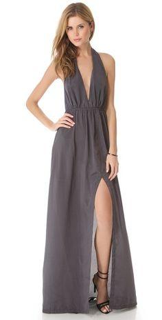 state & lake Halter Maxi Dress | SHOPBOP