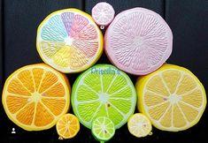 Puni maru squishies citrus