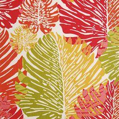 72037 - Springtime - Indoor/Outdoor Fabric Suburban - Alfred Shaheen - Alfred Shaheen - Surf