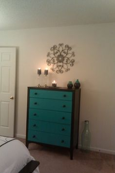 Dresser I repainted for the bedroom