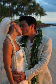 Island Wedding l Bride and Groom