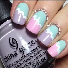 Schodkowe paznokcie !