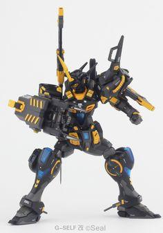 mechaddiction: GUNDAM GUY: HG 1/144 G-Self Custom - Customized...