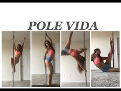Pole Dance Tutorial para principiante. Clase 1 - YouTube
