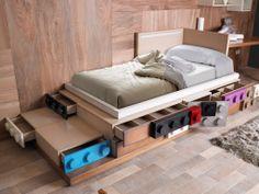 CHILDREN #BED COMPOSITION #LEGOS #lolaglamour #furniture #decor #interiors…