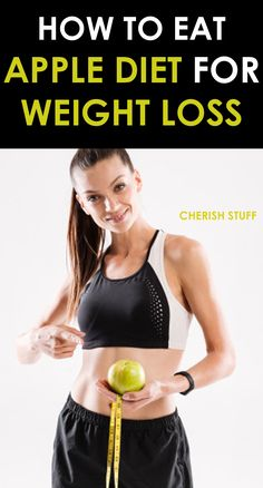 The apple diet for weight loss is detoxifying and organized based on apple, which is rich in vitamins, minerals, essential amino acids, sugars, and water, which allows you to lose weight quickly and easily.