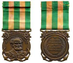 BRASIL - Admiral Tamandare Medal, instituted in 1957 | Coins la Galerie Numismatique