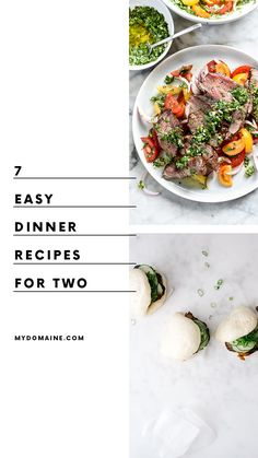 Weeknight meal ideas