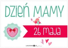 Dzień Matki - plakat - Printoteka.pl Mom And Dad, Everything, Diy And Crafts, Classroom, Education, Children, School, Poster, Google