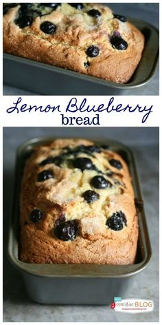 Blueberry Lemon Bread with Lemon Glaze Delicious and zesty Lemon Blueberry Bread with Lemon Glaze quick bread recipe. Quick Bread Recipes, Cooking Recipes, Cooking Bread, Cooking Tips, Dessert Bread, Dessert Recipes, Fruit Recipes, Drink Recipes, Yummy Recipes
