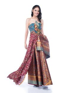 Luire - Buy: Batik Luire Gown-The Dresscodes - 1