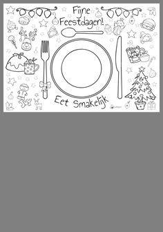 Christmas Cards Drawing, Christmas Placemats, Jingle Bells, Coloring Pages, Diy And Crafts, Xmas, Printables, Letters, School