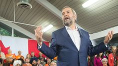 Canada not prepared for 'demographic bomb,' Mulcair says as he touts health plan