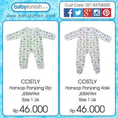 Costly onesies baby pajamas. The clothes are SNI (Standard National Indonesia ) approved. Only at www.babylonish.com Please follow our other social media accounts: Instagram: babylonish Google plus: babylonish Twitter: @BabylonishCom Facebook: babylonish.com  Baby pajamas baby clothes boys girls piyama anak bayi baju pakaian sleepwear