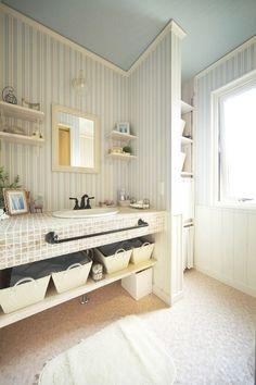実例紹介|スウェーデンハウス名古屋支店 Sweden House, Nalu, Washroom, Asian Style, House Rooms, Home Decor Inspiration, Powder Room, New Homes, Minimalist