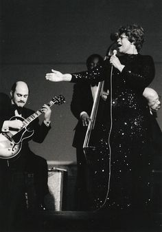 There is nothing so intimate in music as Ella Fitzgerald & Joe Pass during the 70's. What a duo.
