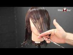 Haircut Tutorial - Medium Length Layers/ Perfect, Balanced Cut - YouTube