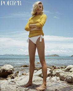 Sienna Miller: Porter Summer Escape 2016