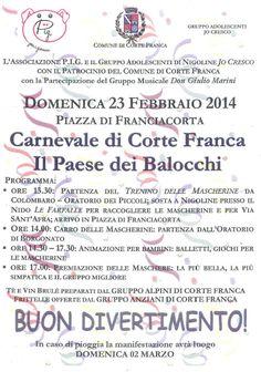 Il Paese dei Balocchi a Corte Franca http://www.panesalamina.com/2014/22231-il-paese-dei-balocchi-a-corte-franca.html