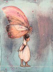 Galleri Graff - Gro Mukta Holter Book Illustration, Illustrations, Graphic Prints, Childrens Books, Art Drawings, Flora, Butterfly, Fine Art, Artwork