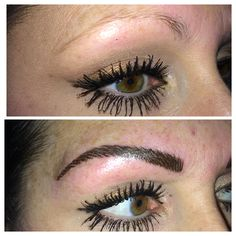 Pretty new eyebrow shape to bring out already beautiful eyes!!! The hair stroke technique looks so natural.