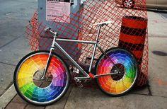 parade bike color wheels