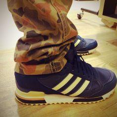 Levi's Camo x Adidas ZX750 #sneakers #camo #adidas