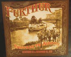 Original silkscreen concert poster for Furthur and their late Fall tour