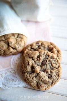 Chocolate Peanut Butter Granola Cookies from #whipperberry // Out of this world AMAZING!!