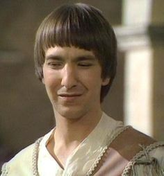 After graduating from RADA, Rickman played Tybalt in a 1978 adaptation of <i>Romeo and Juliet</i> that was shown on BBC.