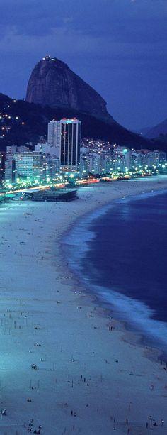 Playa de Copacabana - Rio de Janeiro, Brazil