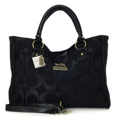 "Coach purse. They tell me you should use certain colors at certain times of the year. I""m no fashion expert. I need help. Black goes with everything , right."