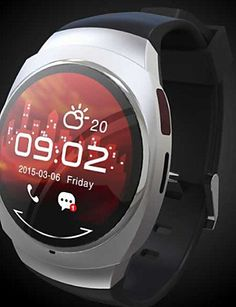 ZiKi UO Wearables Smart Watch  HandsFree CallsMedia ControlMessage ControlCamera Control for AndroidiOS  black -- Details can be found by clicking on the image.