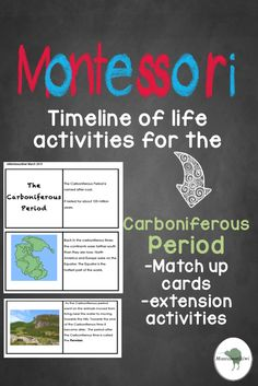 Cave painting activities for use with the montessori history of montessori timeline of life suitable for montessori elementary carboniferous period work looking for work fandeluxe Images
