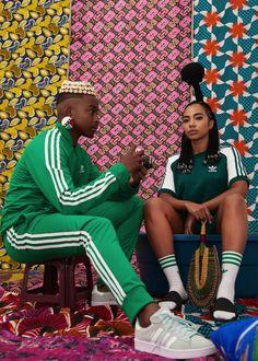 BNStyle Recap: Bonang Matheba, Agbani Darego's New Collection, Amanda du-Pont & Trevor Stuurman for Adidas & Much African Inspired Fashion, Africa Fashion, Afro Punk Fashion, Adidas Outfit, African Design, School Fashion, Urban Fashion, High Fashion, Colorful Fashion