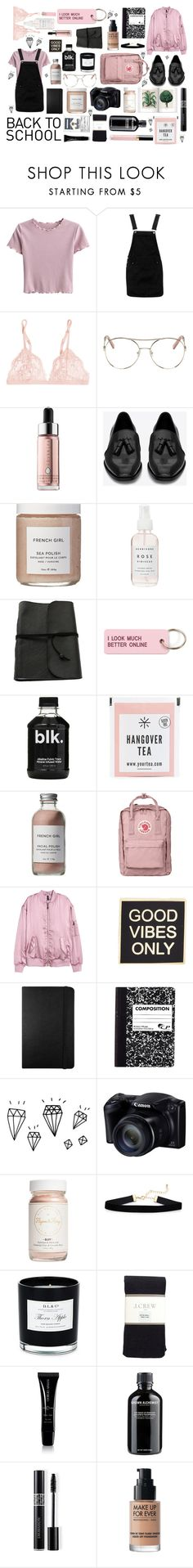 """""""Untitled #23"""" by henkeholm ❤ liked on Polyvore featuring Boohoo, La Perla, Chloé, Cover FX, Yves Saint Laurent, French Girl, Herbivore, Various Projects, Fjällräven and H&M"""