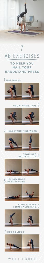 Ab Exercises for Headstand Press
