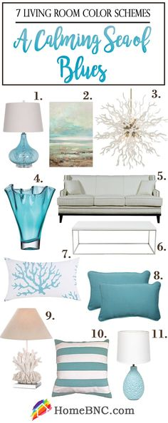 Living Room Color Scheme Items