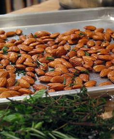 Gluten Free Herbed Almonds