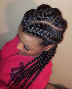 My friend is addicted to these braids. Every second day she comes with a different braid hairstyle. Her daughter is a hairdresser and you already have the picture in your head.    She is saying that when