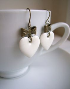 A Pure Heart earrings